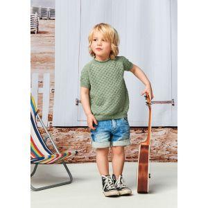 Nr 5 Lille rille T-skjorte - 2105