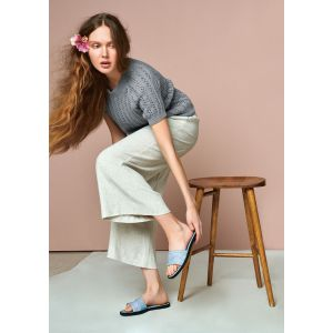 Nr 6 Lavendel T-Skjort - 2104